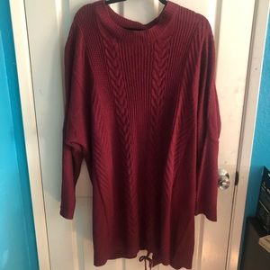 Charlotte Russe Red Sweater